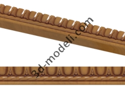 001 - Багет - 3d модели для ЧПУ - stl, art, rlf