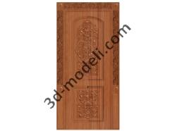 001 - Дверь - 3d модели для ЧПУ - stl, art, rlf