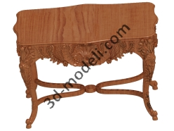 001 - Мебель - 3d модели для ЧПУ - stl, art, rlf