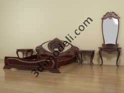 001 - Спальня резная - 3d модели для ЧПУ - stl, art, rlf