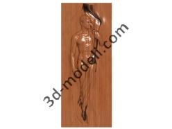 002 - Дверь - 3d модели для ЧПУ - stl, art, rlf