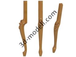 002 - Ножка - 3d модели для ЧПУ - stl, art, rlf