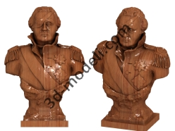 003 - Скульптура - 3d модели для ЧПУ - stl, art, rlf