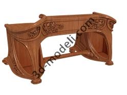 004 - Мебель - 3d модели для ЧПУ - stl, art, rlf
