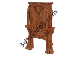 005 - Мебель - 3d модели для ЧПУ - stl, art, rlf