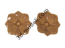 005 - Цветок - 3d модели для ЧПУ - stl, art, rlf