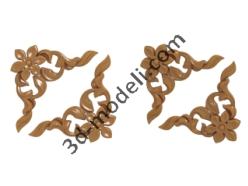 005 - Угловые элементы - 3d модели для ЧПУ - stl, art, rlf