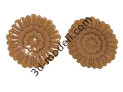009 - Цветок - 3d модели для ЧПУ - stl, art, rlf