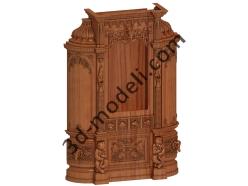 010 - Мебель - 3d модели для ЧПУ - stl, art, rlf