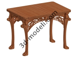011 - Мебель - 3d модели для ЧПУ - stl, art, rlf