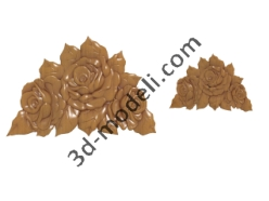 012 - Растительный орнамент - 3d модели для ЧПУ - stl, art, rlf