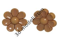 012 - Цветок - 3d модели для ЧПУ - stl, art, rlf