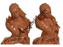 012 - Скульптура - 3d модели для ЧПУ - stl, art, rlf