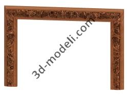 013 - Спальня резная - 3d модели для ЧПУ - stl, art, rlf