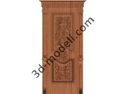 013 - Дверь - 3d модели для ЧПУ - stl, art, rlf
