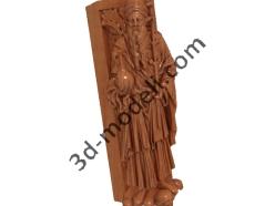 014 - Скульптура - 3d модели для ЧПУ - stl, art, rlf