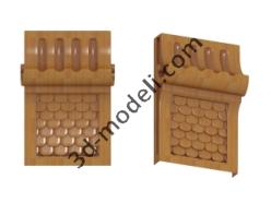 015 - Кронштейн - 3d модели для ЧПУ - stl, art, rlf