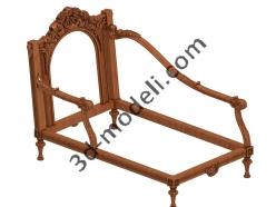 015 - Мебель - 3d модели для ЧПУ - stl, art, rlf