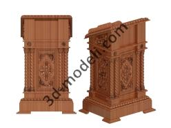 018 - Мебель - 3d модели для ЧПУ - stl, art, rlf