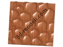 021 - Резная панель - 3d модели для ЧПУ - stl, art, rlf