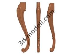 022 - Ножка - 3d модели для ЧПУ - stl, art, rlf