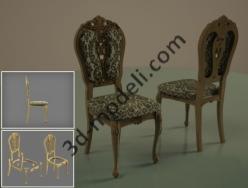 024 - Мебель - 3d модели для ЧПУ - stl, art, rlf