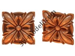 027 - Цветок - 3d модели для ЧПУ - stl, art, rlf