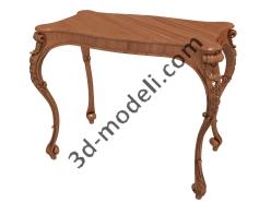 028 - Мебель - 3d модели для ЧПУ - stl, art, rlf
