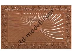 029 - Резная панель - 3d модели для ЧПУ - stl, art, rlf