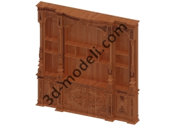 032 - Мебель - 3d модели для ЧПУ - stl, art, rlf