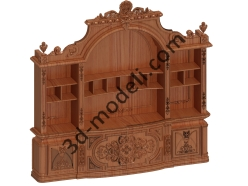 033 - Мебель - 3d модели для ЧПУ - stl, art, rlf
