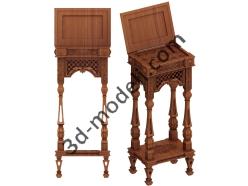 034 - Мебель - 3d модели для ЧПУ - stl, art, rlf