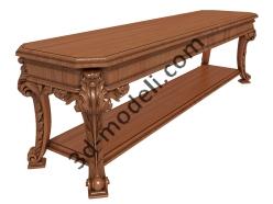 035 - Мебель - 3d модели для ЧПУ - stl, art, rlf