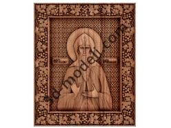 043 Икона Святой благоверный Князь Олег Брянский - 3d модели для ЧПУ - stl, art, rlf