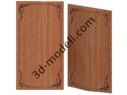 052 - Резная панель - 3d модели для ЧПУ - stl, art, rlf