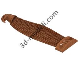 056 - Резное изделие - 3d модели для ЧПУ - stl, art, rlf