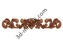 072 - Накладка декоративная - 3d модели для ЧПУ - stl, art, rlf