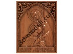 080 Икона Святых Петра и Февронии - 3d модели для ЧПУ - stl, art, rlf