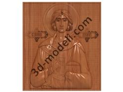 085 Икона Святой Валерий - 3d модели для ЧПУ - stl, art, rlf