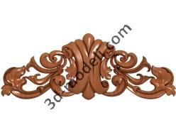 085 - Накладка декоративная - 3d модели для ЧПУ - stl, art, rlf