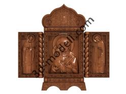 090 Икона Иконостас - 3d модели для ЧПУ - stl, art, rlf