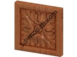 098 - Накладка декоративная - 3d модели для ЧПУ - stl, art, rlf