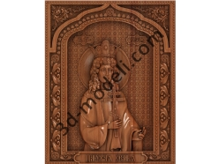 102 Икона Царевна Мария - 3d модели для ЧПУ - stl, art, rlf