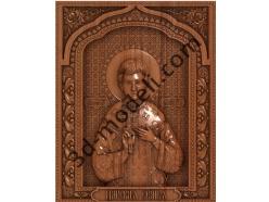 104 Икона царевич Алексей - 3d модели для ЧПУ - stl, art, rlf