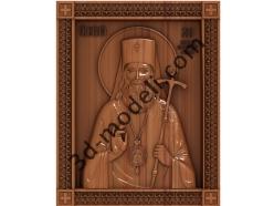 123 Икона Святой Лука - 3d модели для ЧПУ - stl, art, rlf