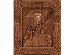 138 Икона Господь Вседержитель - 3d модели для ЧПУ - stl, art, rlf