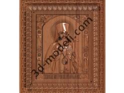 171 Икона Святой Лука Симферопольский - 3d модели для ЧПУ - stl, art, rlf