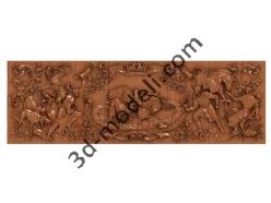 178 - Резное панно - 3d модели для ЧПУ - stl, art, rlf