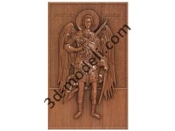 178 Икона Святой Михаил - 3d модели для ЧПУ - stl, art, rlf