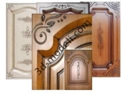 2. Кухонные фасады (классика) - 3d модели для ЧПУ - stl, art, rlf
